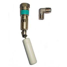 80% Vulklep H:220mm LPG-RingTank - 80% Vuller + Knie