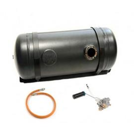 LPG Tank Vapour 142L (400x1213) incl. Multivalve - Cylinder Camper tank