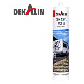 DEKALIN DEKASYL MS-5 WHITE HIGH TACK ADHESIVE & SEALANT
