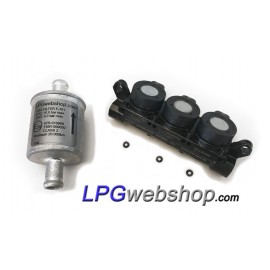 LPG Injector Rail AEB INJ R3S - AEB I-PLUS - VGI 3 Cylinder