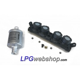 LPG Injector Rail AEB INJ R4S - AEB I-PLUS - VGI 4 Cylinder