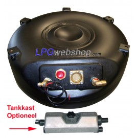 LPG Toroidal Tank 76L (650x270) - GZWM 4 Hole incl. Valves