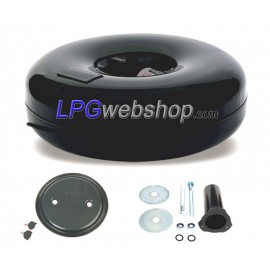 LPG-Tank Toroidal 51L (630x220) 1-Hole Multivalve