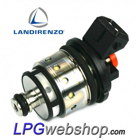 Landi Renzo LPG Injector BF2522 GI25-22 Small Orange MED RGI AMP Bosch Connector