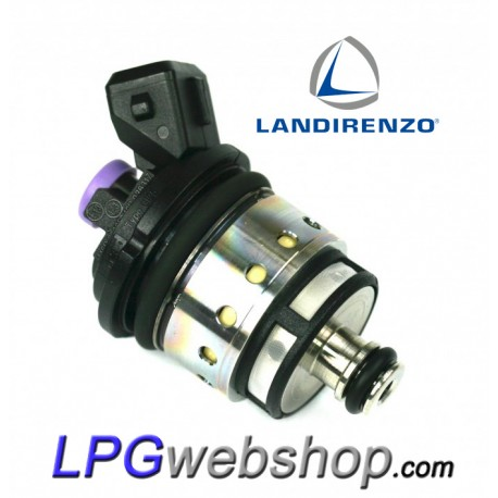Landi Renzo LPG Injector BF2580 GI25-80 Large Purple MED RGI AMP Bosch Connector