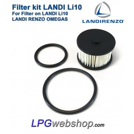 LPG Filter Liquid Gas Li10 - Valve on Landi Renzo Li10
