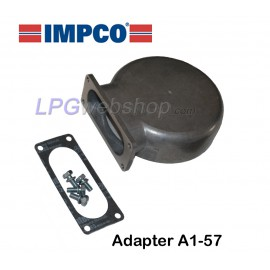 IMPCO Adapter A1-57 Unidapt: Hood for on carburettor with arm connection
