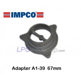 IMPCO A1-39 adapter Ø67mm for CA300 gas mixer Direct installation on carburettor