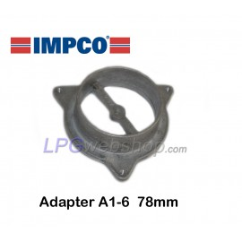 IMPCO A1-6 adapter Ø78mm for CA300 gas mixer Direct installation on carburettor