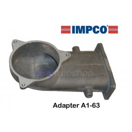 IMPCO Adapter A1-63 Unidapt: End Piece Extension Arm for Mixer CA300