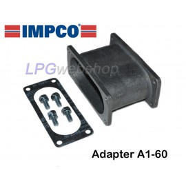 IMPCO Adapter A1-60 Unidapt: Arm piece Straight 75mm for extension arm
