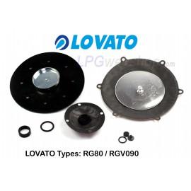 LOVATO Repair kit for the RGV090 / RG80 LPG reducer