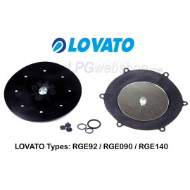 LOVATO Repair kit for the RGE090 / RGE140 / RGE92 LPG reducer