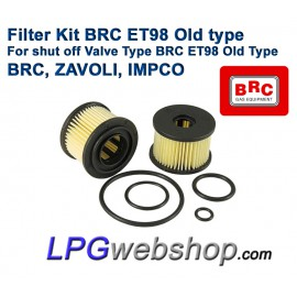 LPG Filter Liquid Gas BRC ET98 Old Type - BRC, ZAVOLI, IMPCO until 2007